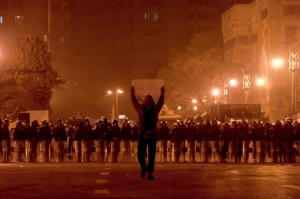 An image from the Egyptian revolution 2 years ago.