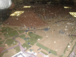 A model of the Battle of Uhud