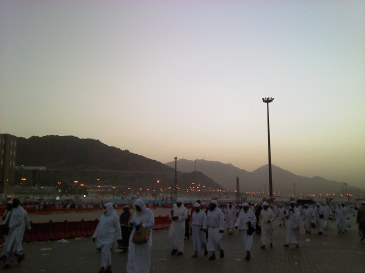 Mina on the final morning of Hajj 1432 (2011)