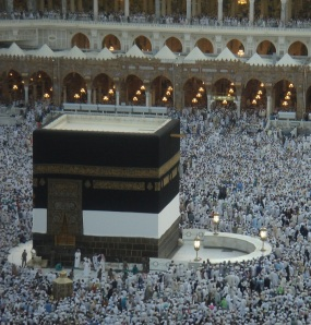 The Kabah a few weeks before Hajj 1432 (2011)