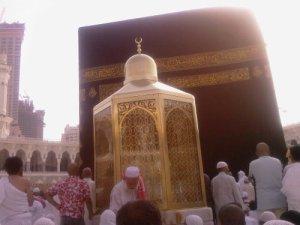 The Maqam Ibrahim (Station of Abraham)