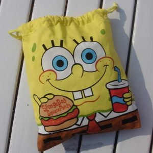 Spongebob shoebag
