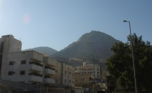 Mount Thoer - which houses the cave of Thowr