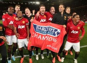 Man United - 2013 champions