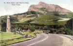 Old shot of Devil's Peak and DeWaal Drive