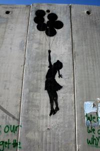 Grafitti on Israel's apartheid wall