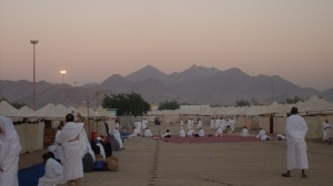 Morning on the plain of Arafah