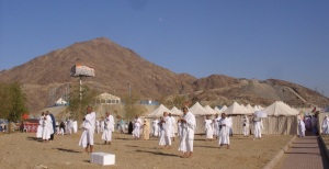Wuqoof on Arafah during Hajj 2011
