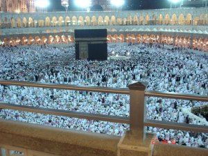 View of the Kabah from the 2nd floor