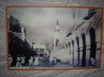 A historical image of Masjid-an-Nabawi