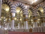 Inside Masjid-an-Nabawi