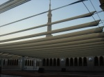 Another view from the rooftop of Masjid-an-Nabawi