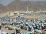 The graves of the martyrs at Uhud