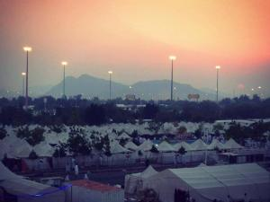 Sunset on the day of Arafah 2013 (Pic by Muhammad Al Shareef)