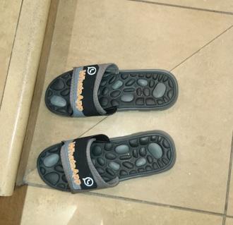 Talking slippers