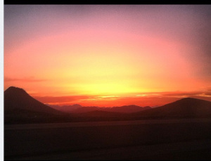 Mountains between Madinah and Makkah