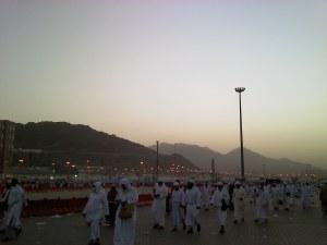 Mina on the final morning of Hajj 1432 (2011)