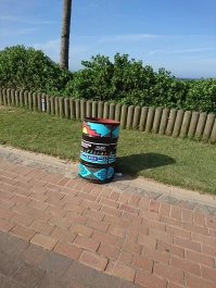 Durban's colourful garbage