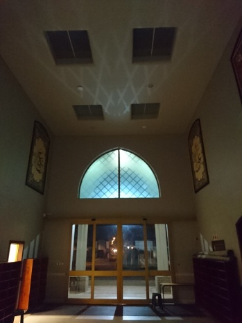 Shadows in the masjid
