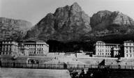 UCT: Before Jameson Hall (credit: UCT Libraries)