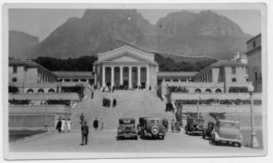 UCT: Jameson steps (credit: UCT Libraries)