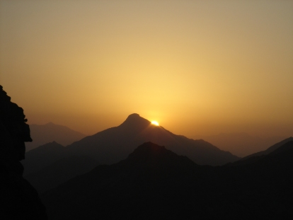 Sunrise in Makkah - taken upon descent from Jabal Nur (2011)