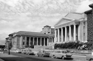UCT: University Avenue and Jameson Hall (credit: UCT Libraries)