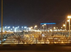 Tents in Mina
