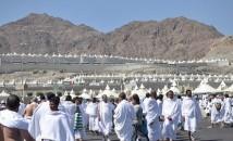 Pilgrims in Mina