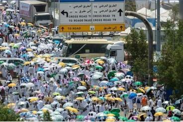 Pilgrims head to Arafah this morning