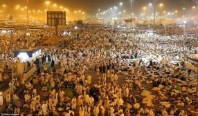 Pilgrims head to Muzdalifah