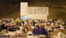 Pilgrims on Muzdalifah