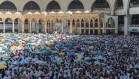 Pilgrims circle the Kabah in Makkah as one of their final acts of Hajj