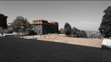 Pretty plaza