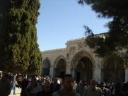 After Jumuah at Masjid Al Qibli (a.k.a. Al Aqsa)