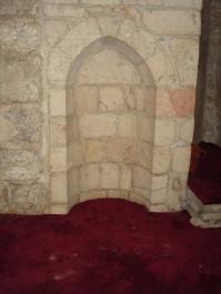 Inside Masjid Al Qibli (a.k.a. Al Aqsa). The alleged place where Maryam a.s. stayed