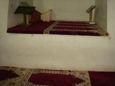 Downstairs, inside Masjid Al Qibli (a.k.a. Al Aqsa)