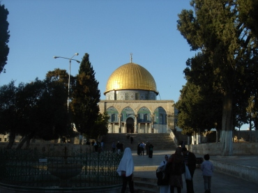 Dome of the Rock, as seen from Masjid Al Qibli