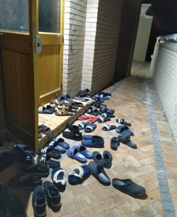 Fear of shoe racks