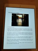 "iPad preview: from the reflection ""Journey of a Lifetime"""