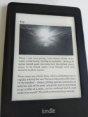 "Kindle preview: from the reflection ""Try"""