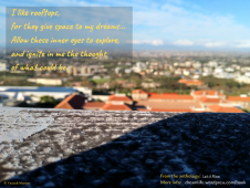 "From the poem ""Rooftops"""