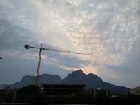 Mountain under construction