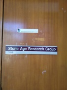 The office of the really old researchers